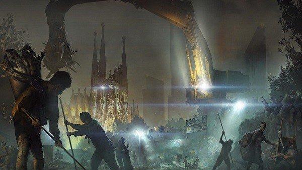 Deus Ex: Mankin Divided: Este es el aspecto de Barcelona en 2029