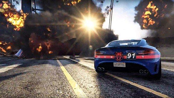 GTA Online estrena el Creador de carreras acrobáticas