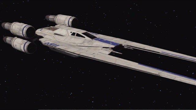 Star Wars presenta al mundo su nuevo Ala-U