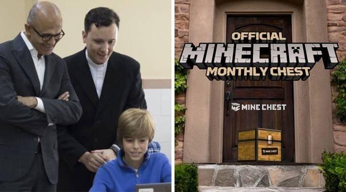 Minecraft: Este sacerdote enseña religión con el juego de Mojang