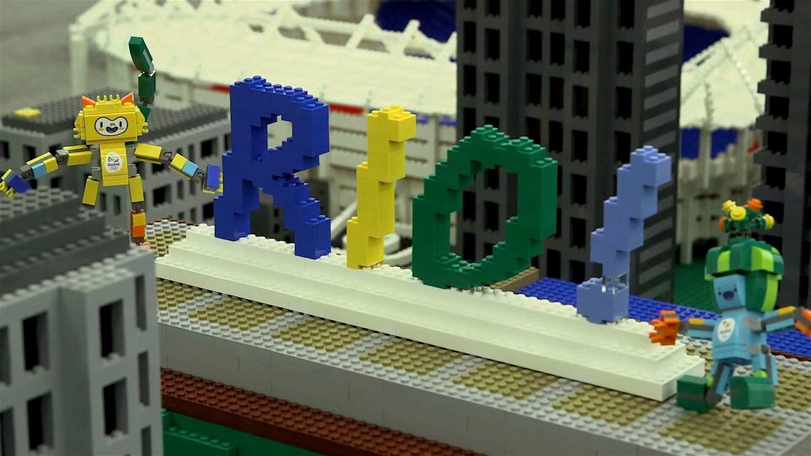 Los Juegos Olímpicos ya tienen su propia versión LEGO