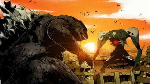 Godzilla y Evangelion se fusionan gracias a un diseñador de Metal Gear