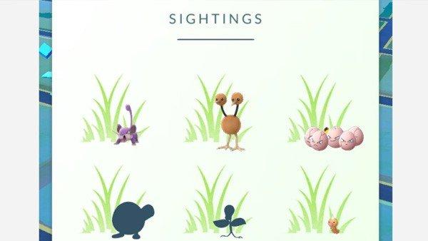 Pokémon GO ya cuenta con un nuevo sistema de rastreo