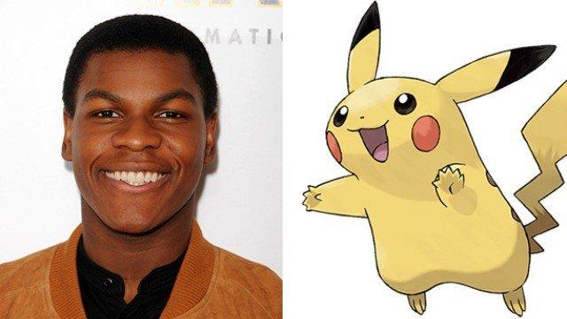 Pokémon GO: John Boyega caza un Pikachu en el rodaje de Star Wars