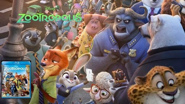 Zootrópolis: Análisis de la edición en Blu-Ray