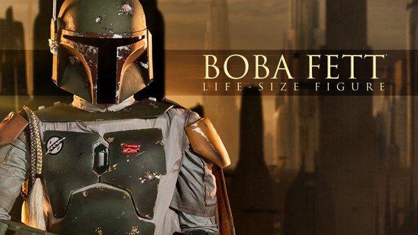Star Wars: Boba Fett puede entrar en tu casa gracias a esta figura a tamaño real