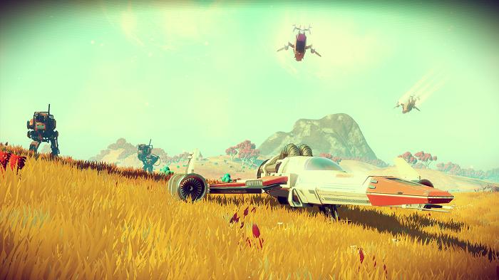 No Man's Sky: La nave de regalo por la reserva del juego genera un bug