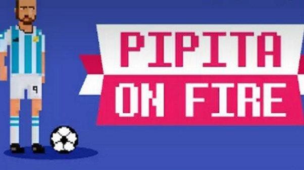 Pipita on Fire: El videojuego con el que ayudar a Higuaín a marcar goles