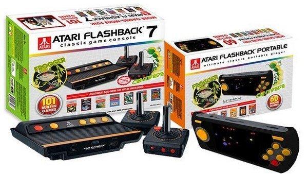 Atari vuelve con dos nuevos modelos, uno de ellos portátil