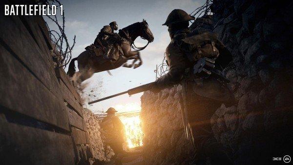 Gamescom 2016: Battlefield 1 explica cómo funcionarán los caballos en el modo multijugador