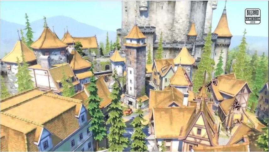 Gamescom 2016: Overwatch anuncia un nuevo mapa, Eichenwalde