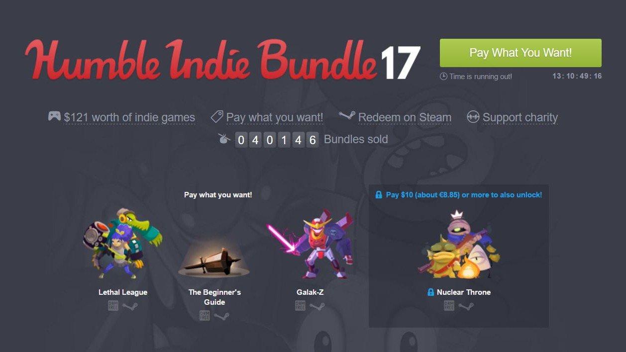 Humble Bundle pone a tu disposición una nueva oleada de juegos indies