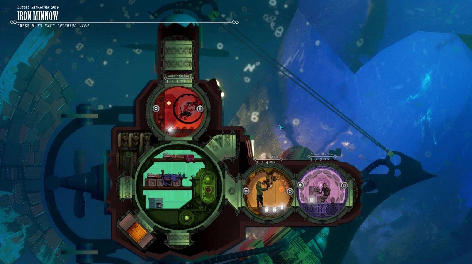 Diluvion: El videojuego inspirado en las novelas de Julio Verne