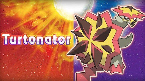 Gamescom 2016: Pokémon Sol/Luna anuncia a Turtonator, un nuevo Pokémon