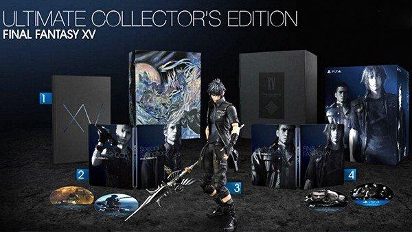 Final Fantasy XV: Su Ultimate Collector's Edition no incluirá el pase de temporada
