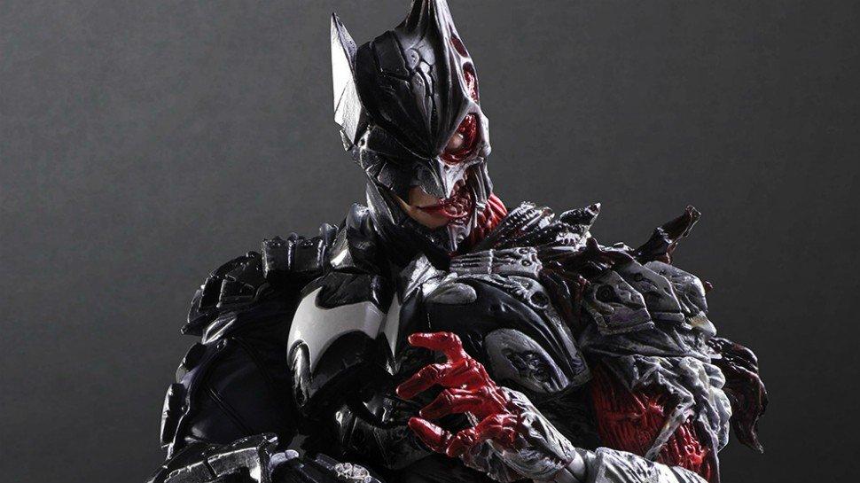 Un espeluznante híbrido entre Batman y Dos Caras se convierte en figura de acción