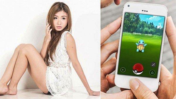 Pokémon GO: Una modelo de Singapur recibe mil dólares al mes solo por jugar