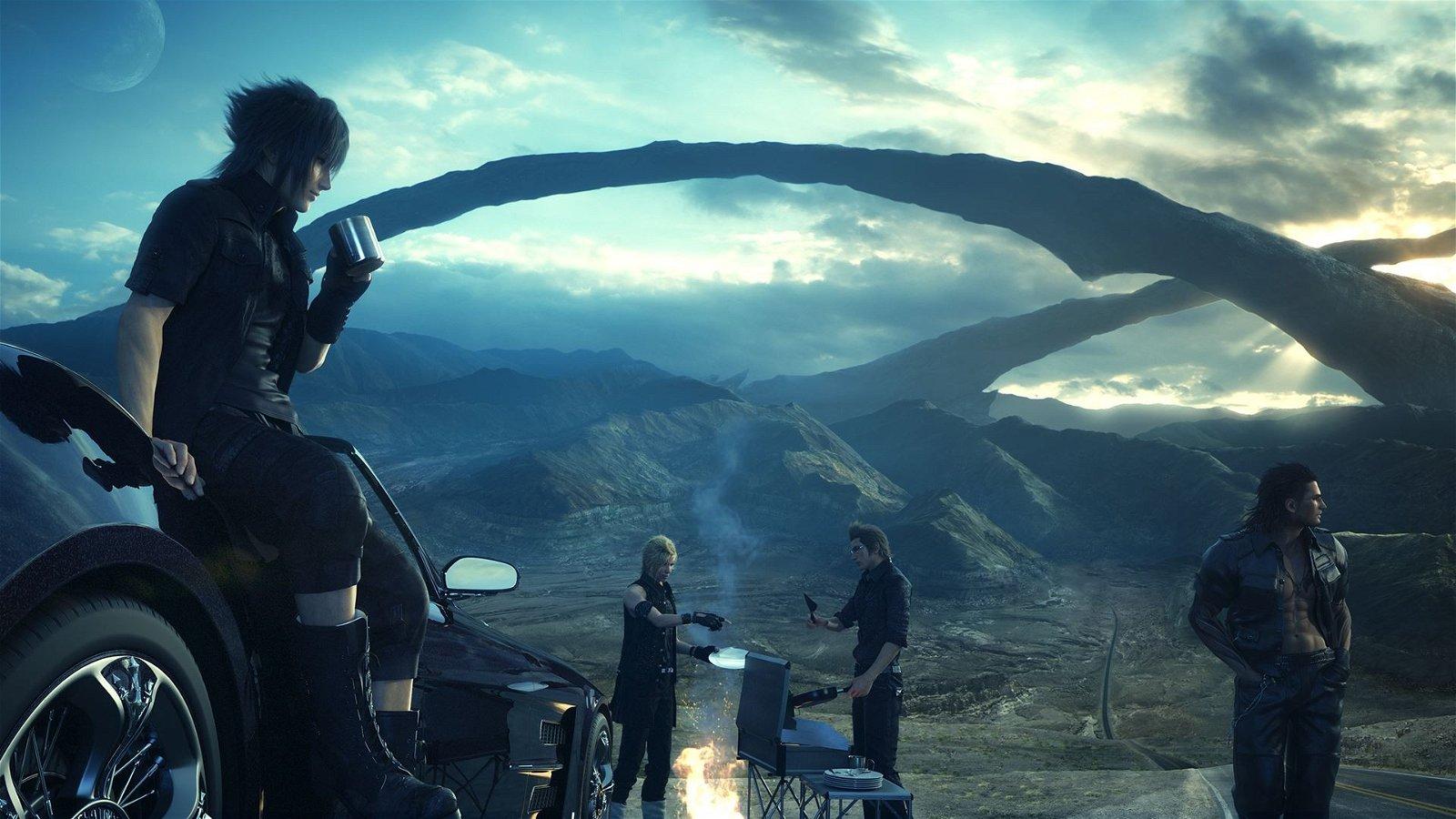 Final Fantasy XV se muestra en un nuevo gameplay de más de media hora