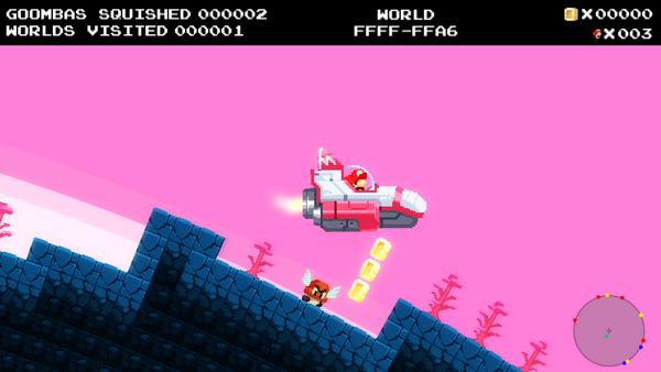 No Mario's Sky: Un videojuego que une Super Mario y No Man's Sky