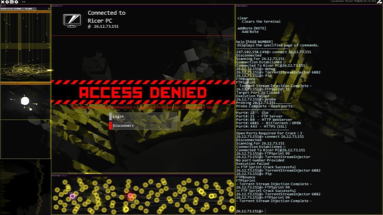 Hacknet recibirá su primera expansión un año después de su lanzamiento