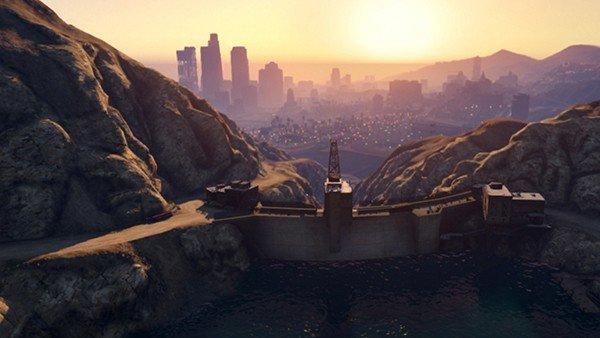 Grand Theft Auto V: Destruir la presa de Los Santos se convierte en la última moda