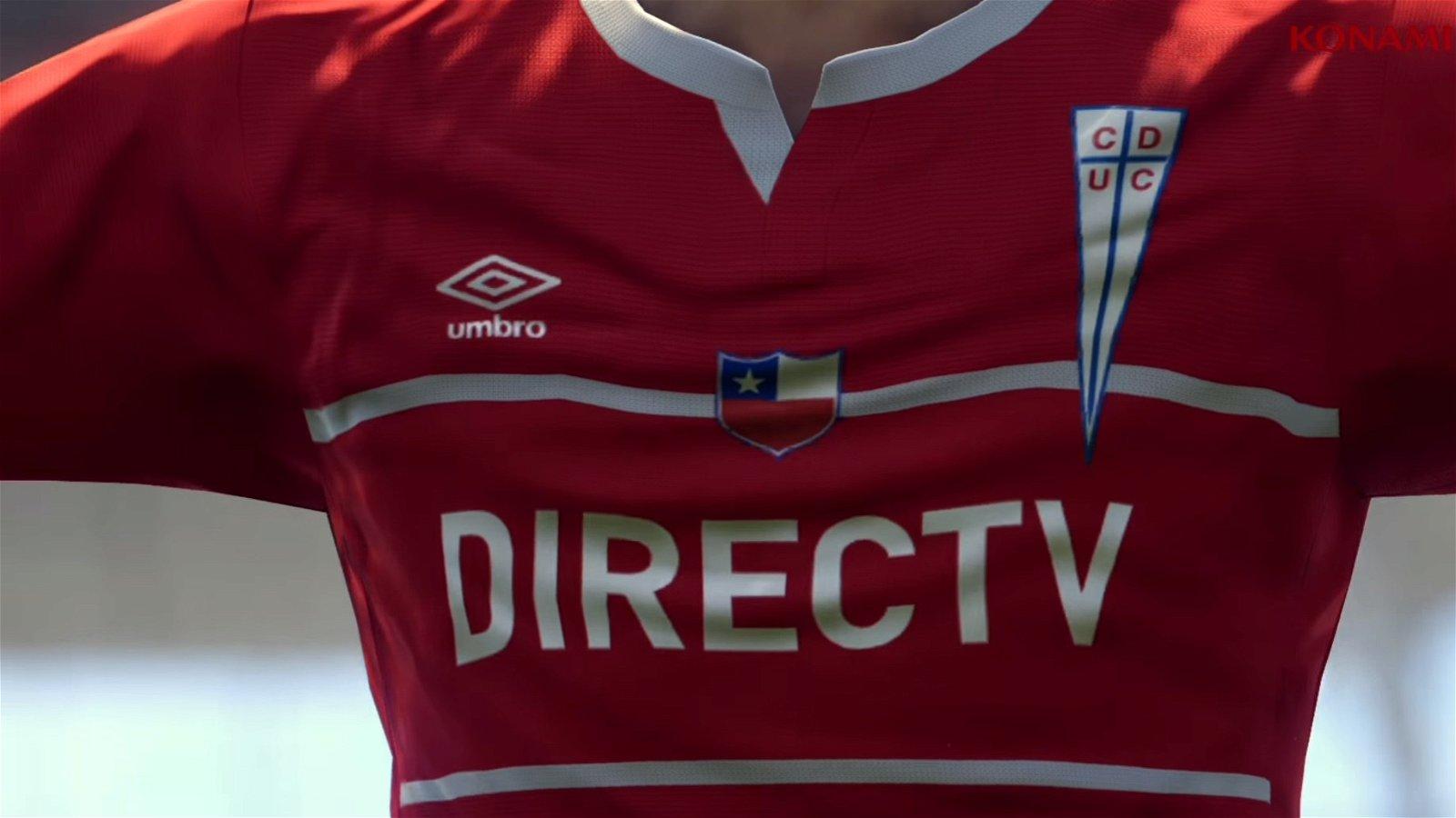PES 2017 contará con la licencia de la liga chilena