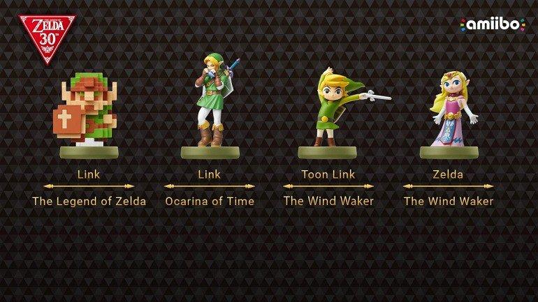 The Legend of Zelda anuncia nuevos amiibo por su 30 aniversario