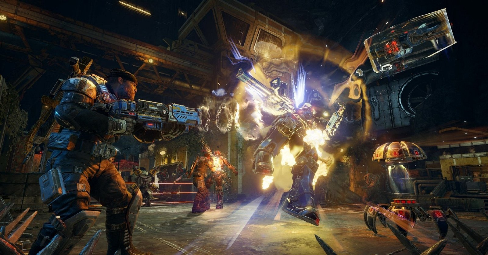 Gears of War 4 pesará finalmente 55 GB