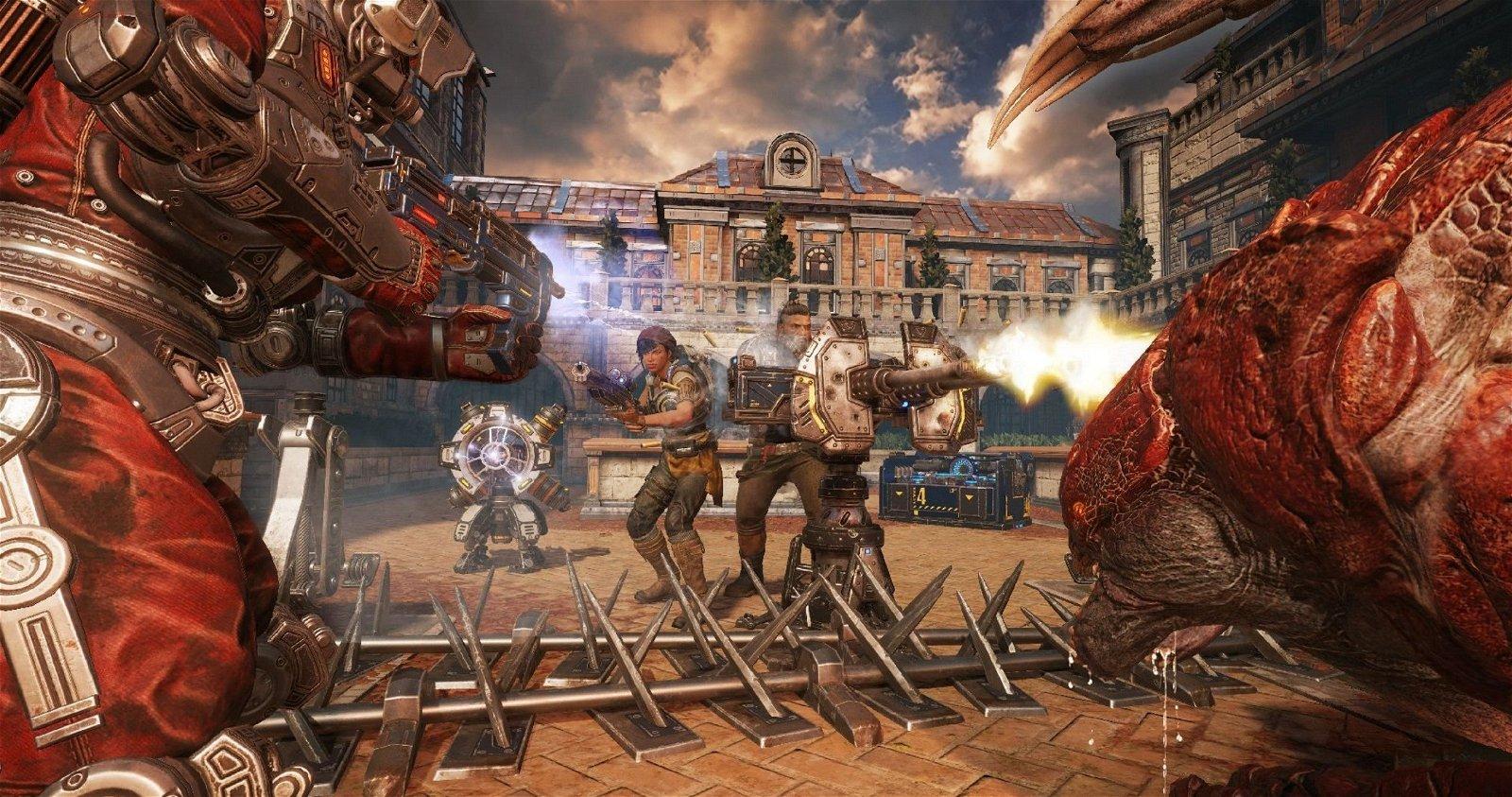 Gears of War 4 presenta el primer tráiler del modo Horda 3.0