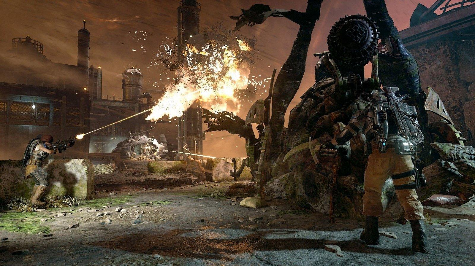 Gears of War 4: Comparativa gráfica entre sus versiones de Xbox One y PC