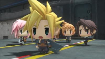 World of Final Fantasy anuncia una demo para Occidente