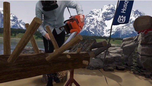 Husqvarna's Limberjack, el simulador de realidad virtual para cortar madera con motosierra