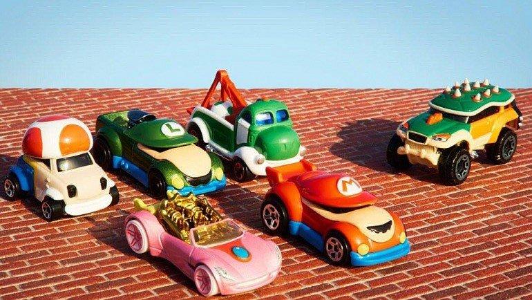Super Mario: Los personajes de la saga se convierten en coches Hot Wheels