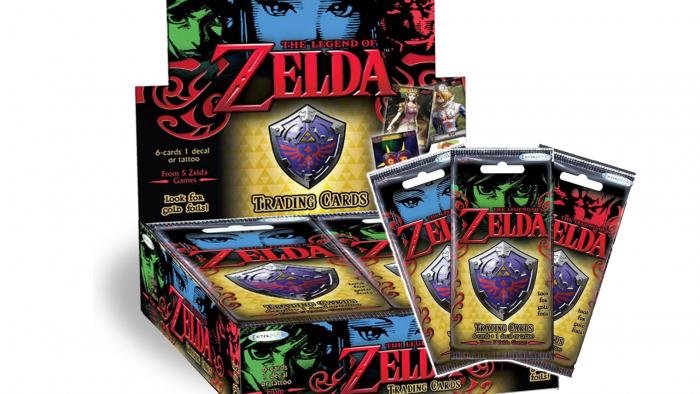 The Legend of Zelda ya tiene su propia línea de cartas coleccionables