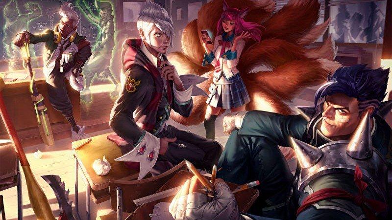 League of Legends ya tiene su propio libro de arte online y completamente gratis