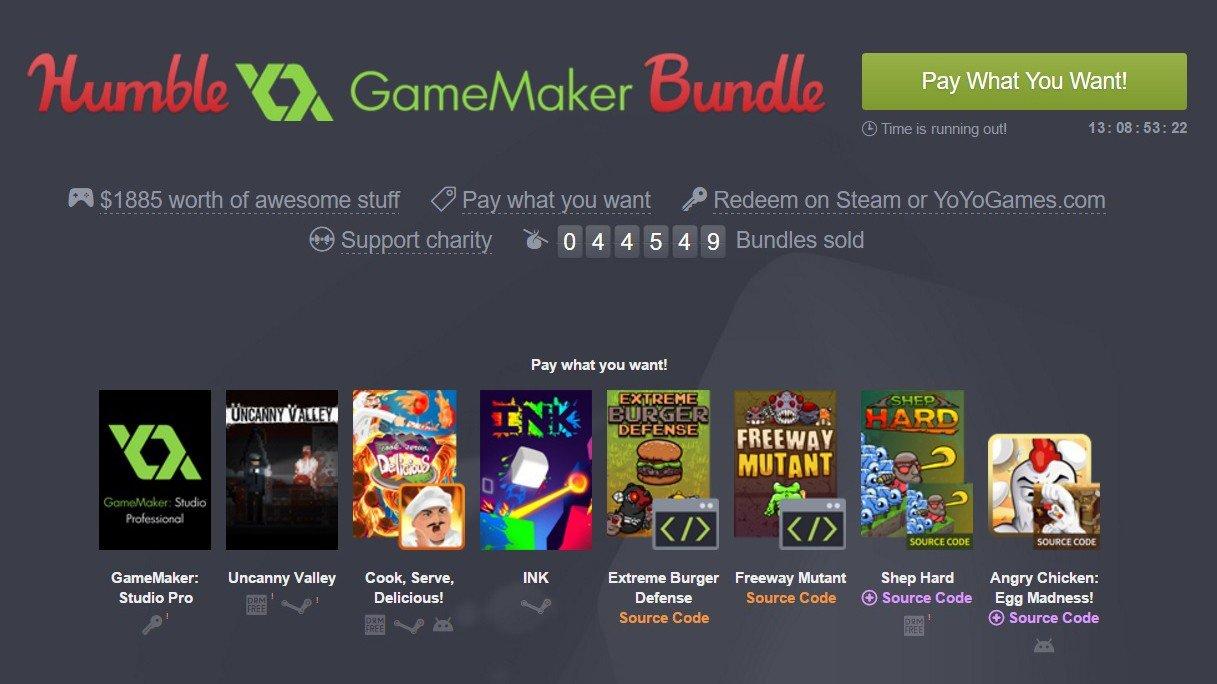 Humble Bundle te inicia en el desarrollo de videojuegos con sus nuevas ofertas