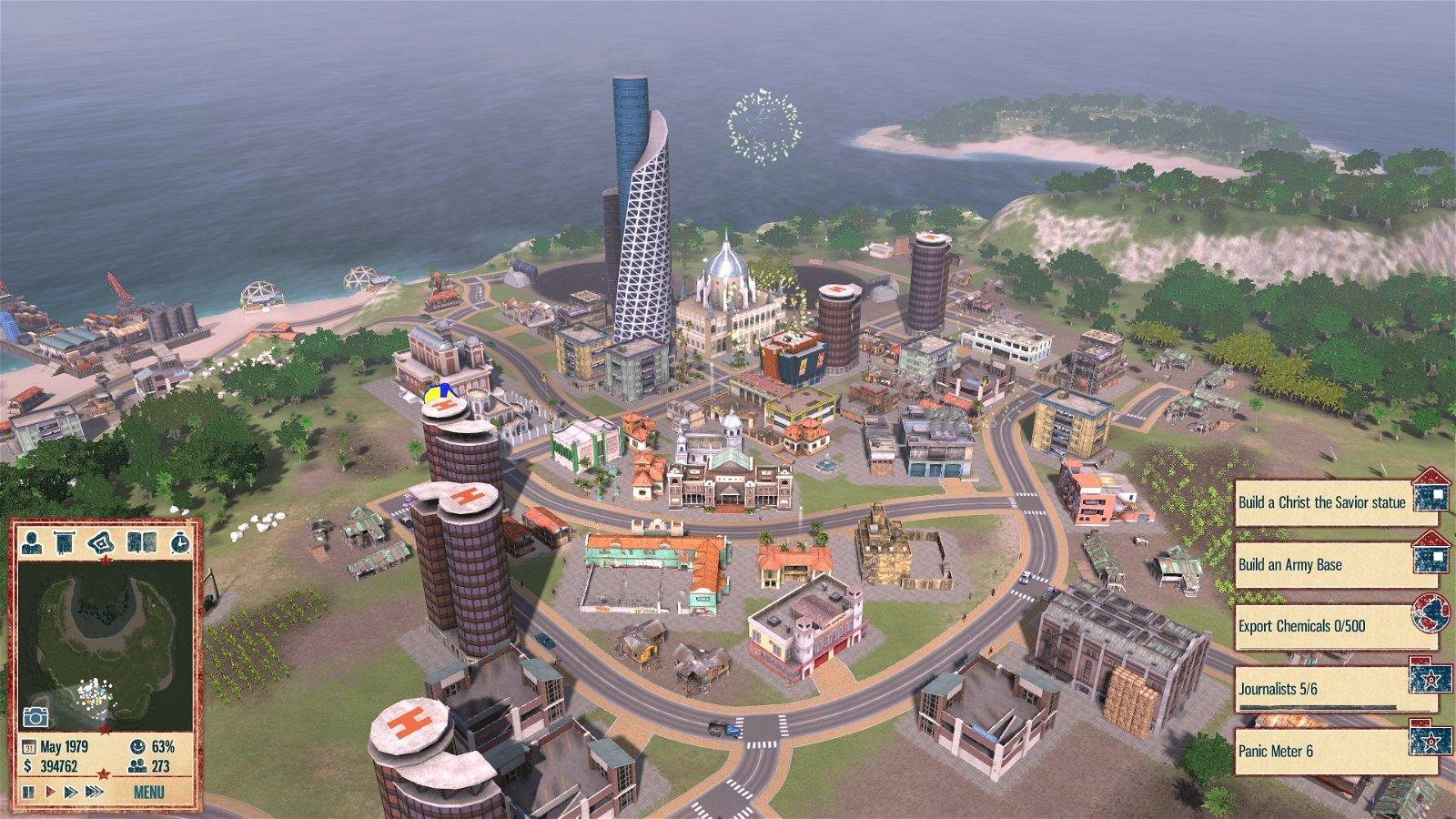 Tropico 4 es totalmente gratuito a través de Humble Bundle