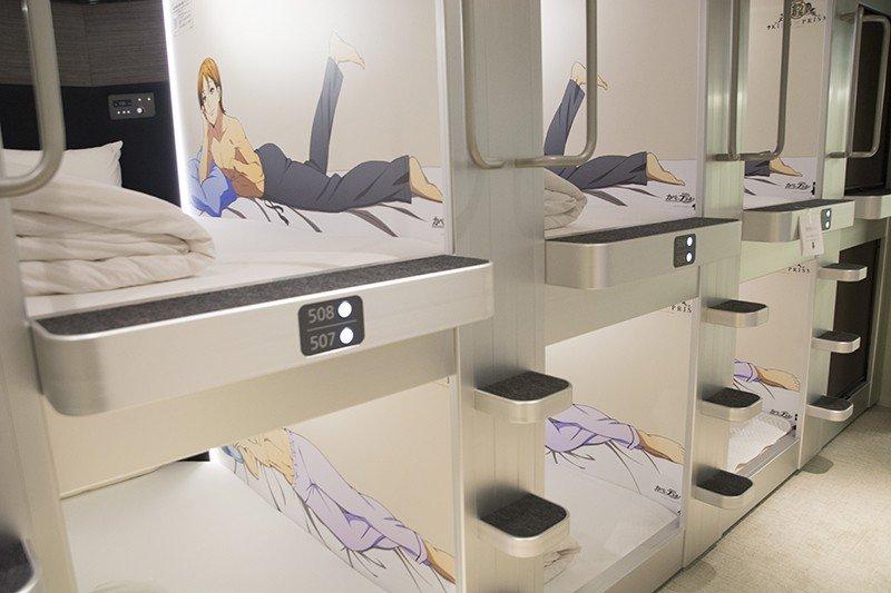 En Tokio ya pueden acostarse con sus estrellas de anime preferidas
