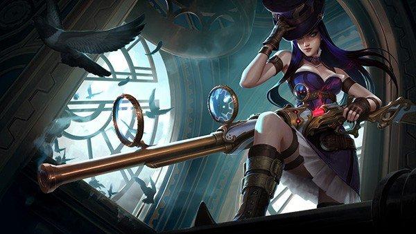 League of Legends lanza su figura de Caitlyn