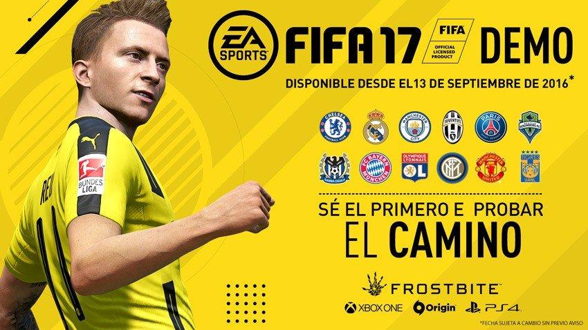 FIFA 17 anuncia la fecha de su demo