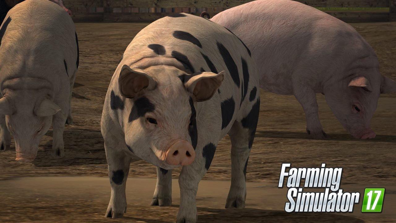 """Farming Simulator 17: PETA pide que incluyan mataderos de cerdos para mostrar """"su cruda realidad"""""""