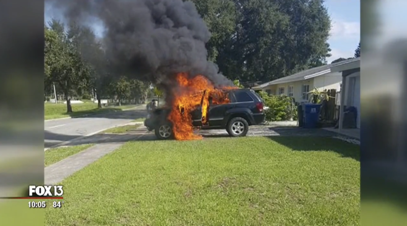 Un Galaxy Note 7 podría haber provocado la explosión de un coche