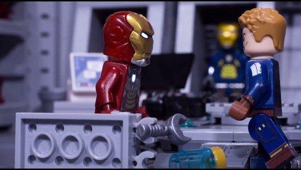 Capitán América: Civil War ha sido recreada con piezas LEGO