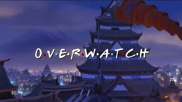 Overwatch se vuelve más cómico al unirse con el opening de Friends