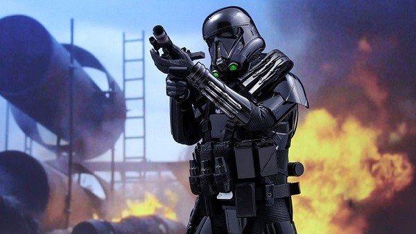 Star Wars: Rogue One tiene esta alucinante figura de Death Trooper