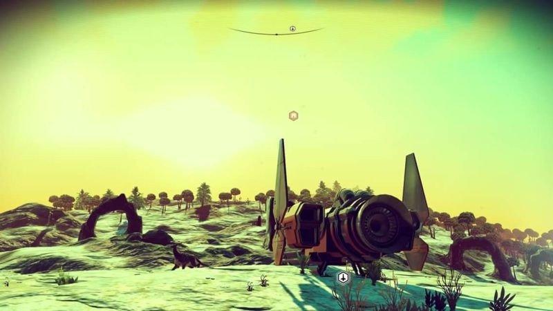 No Man's Sky: Un jugador se propone recorrer un planeta entero a pie