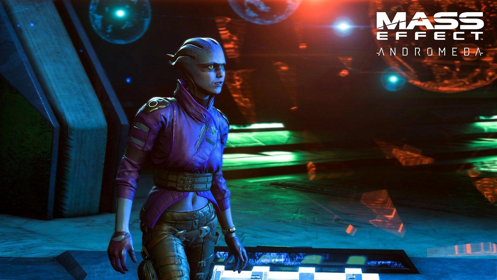 Mass Effect: Andromeda se vuelve a mostrar en movimiento y en 4K