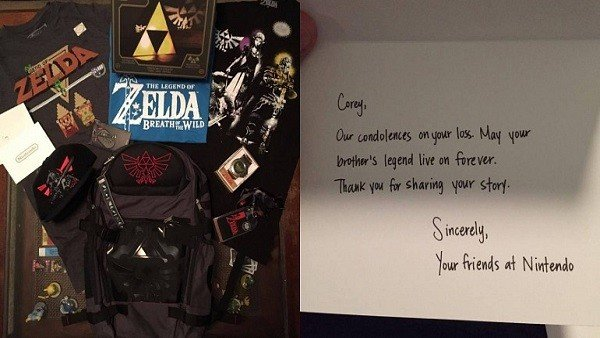 The Legend of Zelda rinde tributo al difunto hermano de un jugador