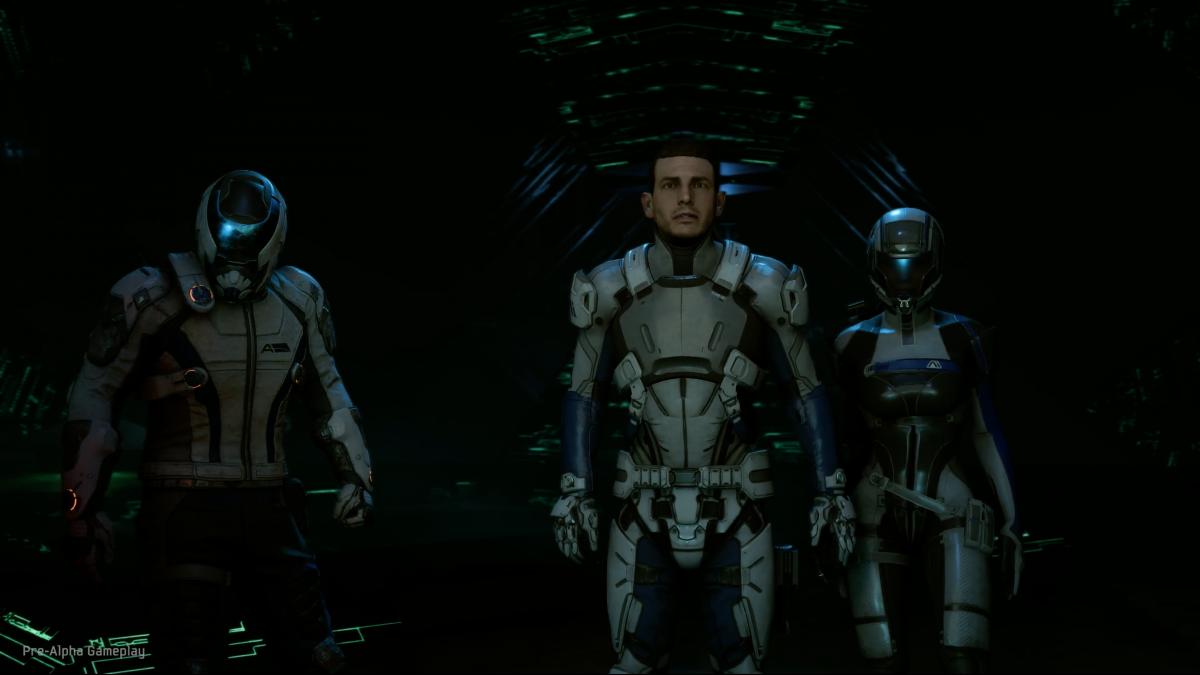 Mass Effect: Andromeda revela nueva información sobre sus personajes