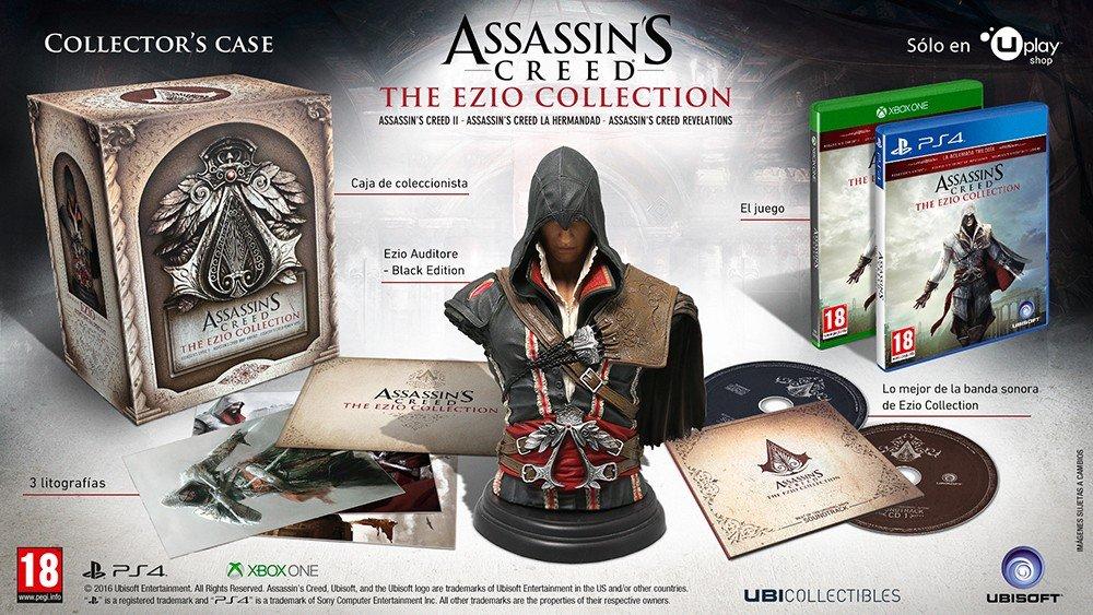 Assassin's Creed: The Ezio Collection tendrá edición coleccionista